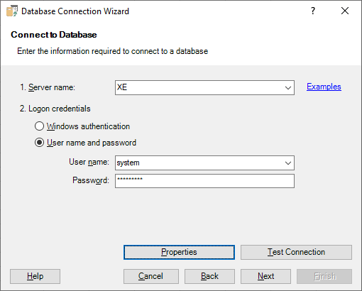 Connecting Excel to Oracle Database